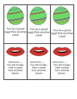 Kindergarten Peeps Sight Word Game!