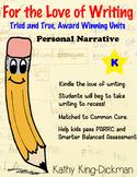 Personal Narrative Kindergarten