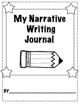 Kindergarten Personal Narrative Writing Journal & Anchor Chart Posters