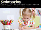Kindergarten Persuasive Writing Paper Packet {Lucy Calkins