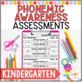Kindergarten Phonemic Awareness Assessments