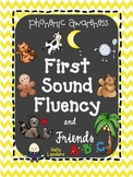 First Sound Fluency {DIBELS Next FSF}  Kindergarten Phonemic Awareness Practice