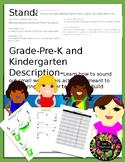 CC.RF.K.2 Bundle Kindergarten Phonemic Awareness Springboard