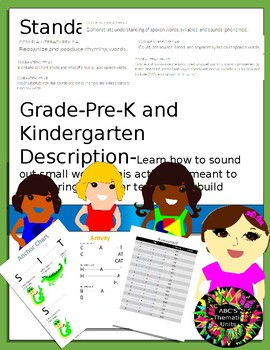 Springboard teaching resources teachers pay teachers k2 bundle kindergarten phonemic awareness springboard fandeluxe Choice Image