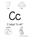 Kindergarten Phonics (C)