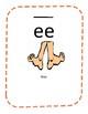 Kindergarten Phonics Classroom Vowel Team Posters