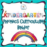 Kindergarten Phonics Curriculum