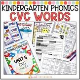 Kindergarten Phonics CVC Words Unit