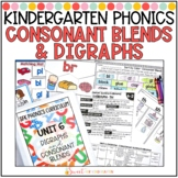 Consonant Blends and Digraphs Unit