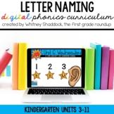Kindergarten Digital Phonics Curriculum: Letter Identification