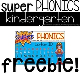 Kindergarten Digital Phonics Curriculum, Letter ID FREEBIE