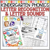 Kindergarten Phonics Letter Recognition and Sounds Unit