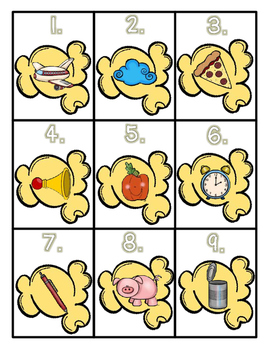 Kindergarten Phonics Enhancers Set 2
