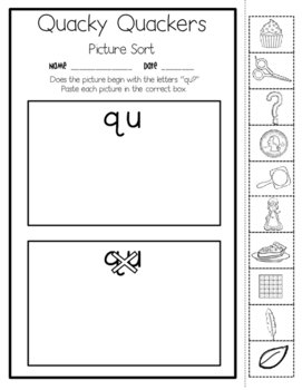 Kindergarten Phonics Enhancers Set 6
