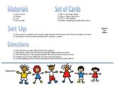 Kindergarten Phonics File Folder Gameboard