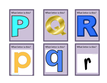 Kindergarten Phonics File Folder Gameboard - Part 4 (Card Set)