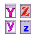 Kindergarten Phonics File Folder Gameboard - Part 4 (Card Set)