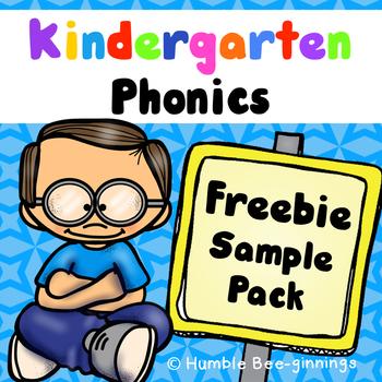 Kindergarten Phonics: - Sample Pack