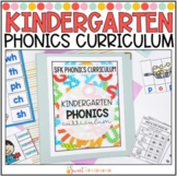 Kindergarten Phonics Curriculum YEARLONG BUNDLE