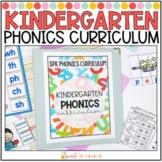 Kindergarten Phonics Curriculum YEARLONG BUNDLE