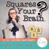 Kindergarten Phonics Game Squares Your Brain™
