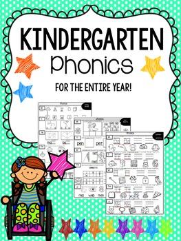 Kindergarten Phonics Homework_For the Year