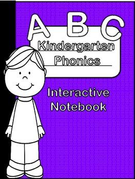 Kindergarten Phonics Interactive Notebook