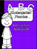 Kindergarten Phonics Interactive Notebook