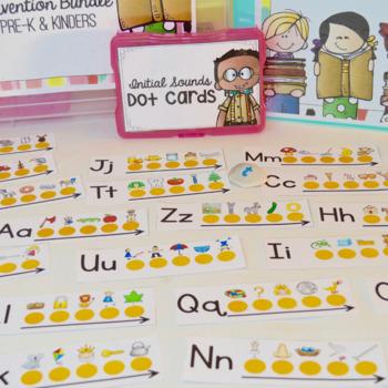 Kindergarten Phonics Intervention Bundle