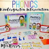 Kindergarten Phonics Intervention Bundle