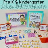 Kindergarten Phonics Intervention Pack