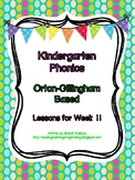 Kindergarten Phonics Lesson 11: L Family Blends