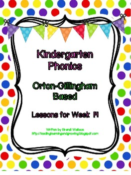 Kindergarten Phonics Lesson 14: Digraphs ch and sh