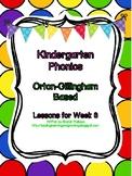 Kindergarten Phonics Lesson 8