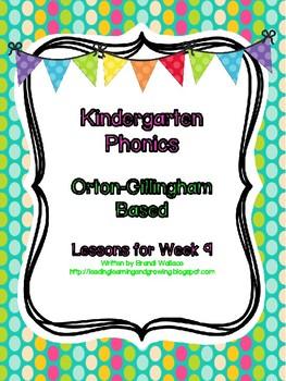 Kindergarten Phonics Lesson 9