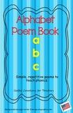 Kindergarten Phonics Poem Book