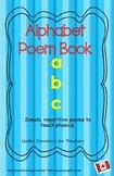 Kindergarten Phonics Poem Book - Canadian version