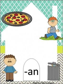 Kindergarten Phonics Posters