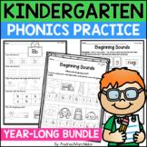 Level K Phonics Units 1 - 5 Bundle