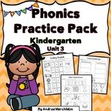 Kindergarten Phonics Unit 3