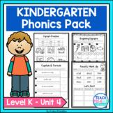 Kindergarten Phonics Unit 4