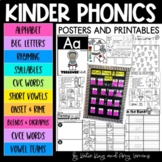 Kindergarten Phonics Printables BUNDLE