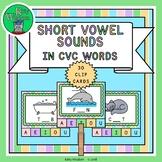 Kindergarten Phonics SHORT VOWEL SOUNDS In CVC Words - Cli