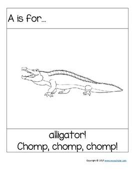 Kindergarten Phonics (Short A)