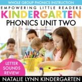 Kindergarten Phonics Unit 2: Alphabet Review and Beginning Sounds