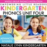 Kindergarten Phonics Unit | Digraphs, Blends, CVCe, Advanc