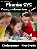 Phonics Worksheets -CVC comprehension early readers (Kindergarten/First Grade)