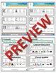 Kindergarten Phonics and Spelling D'Nealian Week 1 (k, l,
