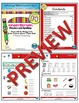 Kindergarten Phonics and Spelling D'Nealian Week 14 (B) {TEKS-aligned}