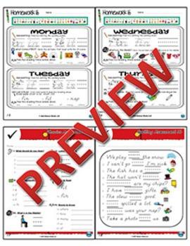 Kindergarten Phonics and Spelling D'Nealian Week 16 (Short Ĭĭ) {TEKS-aligned}